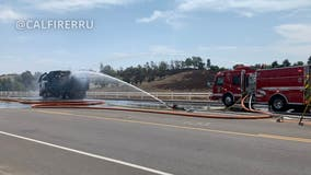 Riverside County propane explosion injures 12 firefighters, 1 civilian