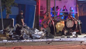 Two teens arrested in connection to Burbank crash that killed 3 innocent people