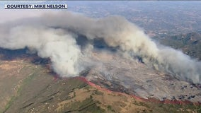 Chaparral Fire: Crews inch closer to containing brush fire in Riverside County