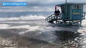 High tides threaten homes, beaches across Los Angeles, Orange counties