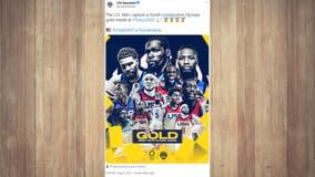 Tokyo 2020: USA men's basketball team beats France to take gold medal