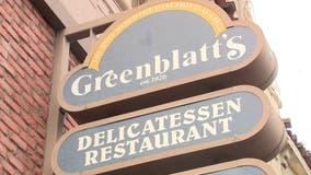 Greenblatt's, popular Jewish deli, is shutting down