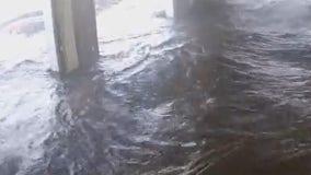 Timelapse video shows Hurricane Ida flooding Louisiana roads in under an hour