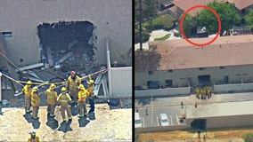 1 dead, 2 hospitalized after truck plows through multiple structures at Anaheim apartment complex