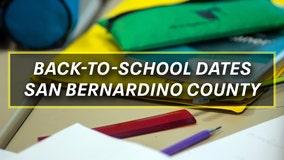 Destination Education: Back-to-school dates for San Bernardino County districts