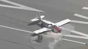 Small plane crashes in Orange County; 2 hurt