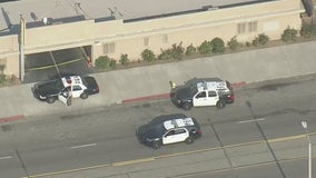 Large police presence in Compton after shooting