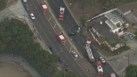 At least two dead in crash in Baldwin Hills