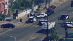 Shooting involving Los Angeles police reported in North Hollywood