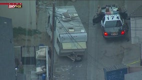 Authorities ID 14-year-old boy found shot to death inside Compton camper trailer