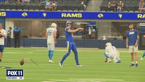 Chargers defeat Rams, 13-6, in first NFL game at SoFi stadium with fans