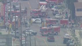 5 critically injured following multi-vehicle crash in Wilmington