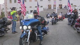 Motorcycle ride from LA to NYC underway to honor 9/11 firefighters