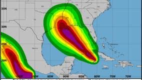 Ida strengthens into hurricane as it tracks toward New Orleans