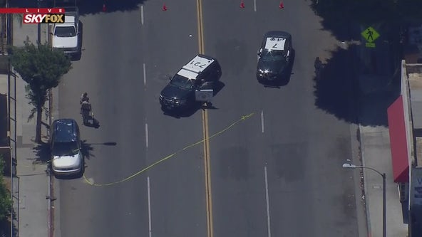 Child struck and killed by vehicle in South Los Angeles