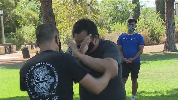 Self-defense workshop held for members of the AAPI community
