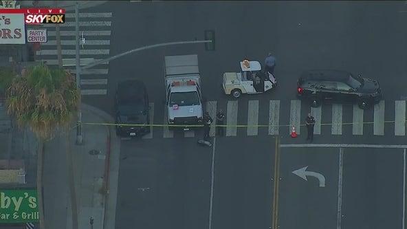 Pedestrian killed in hit-and-run crash in Santa Monica