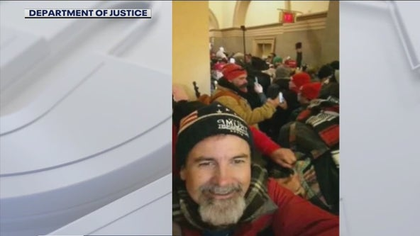 California man who texted his church group from the Capitol riot arrested