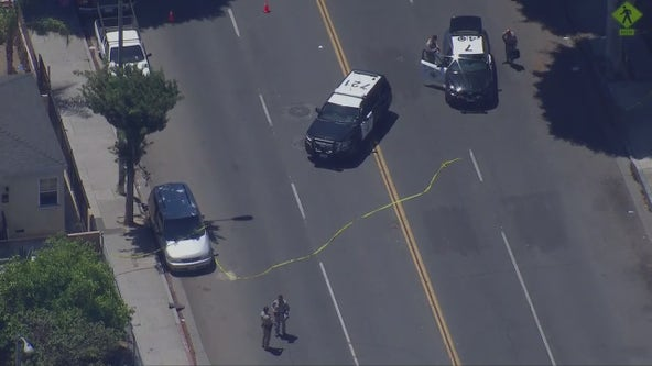 Child struck and killed by vehicle in South LA