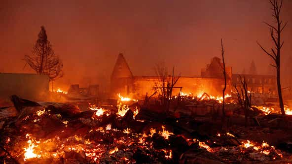 'We lost Greenville:' Growing 322,000 acre Dixie Fire decimates California town