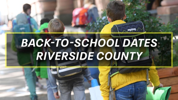 Destination Education: Back-to-school dates for Riverside County districts
