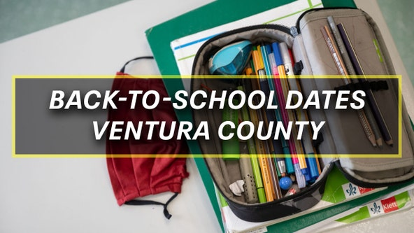 Destination Education: Back-to-school dates for Ventura County districts