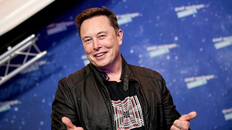 51887c85-Elon Musk Awarded With Axel Springer Award In Berlin