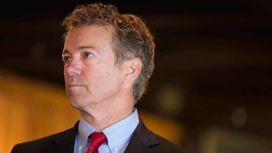 Rand Paul Campaigns In Iowa