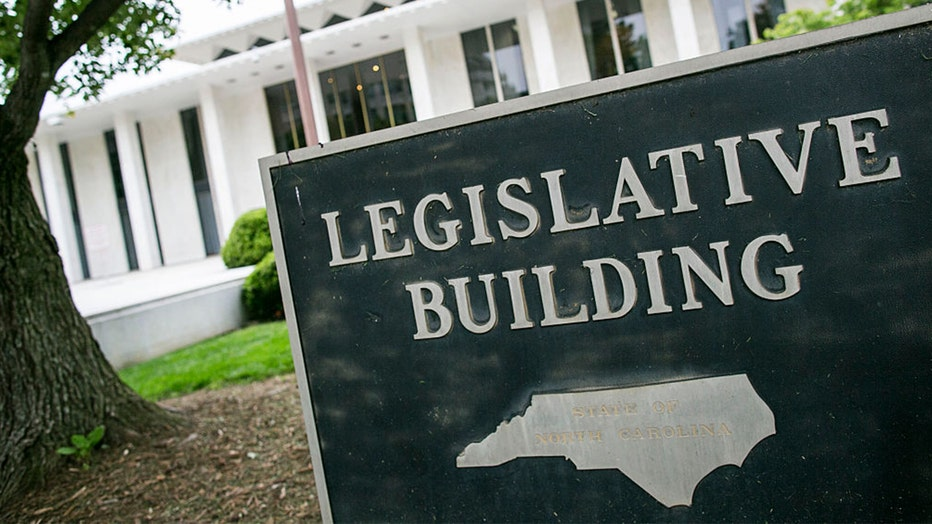 NC state legislative building