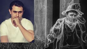 'The Smoke Artist' honors 9/11 firefighters with oil painting