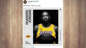 Lakers sign former NBA All-Star center DeAndre Jordan