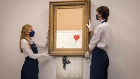 Half-shredded Banksy could sell for over $5 million at auction
