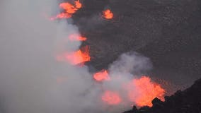 Kilauea eruption: Video captures lava spewing from Hawaii volcano