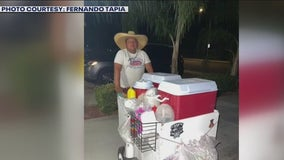 Moreno Valley neighbors step in to help street vendor who was attacked