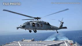 US Navy helicopter was vibrating before crash that killed 5