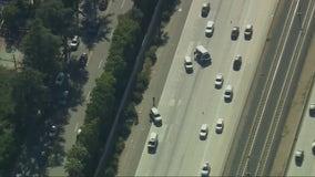 Woman killed in car-to-car shooting, crash on 210 Freeway in Arcadia