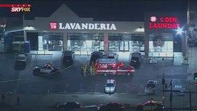 Person found shot to death inside South LA laundromat