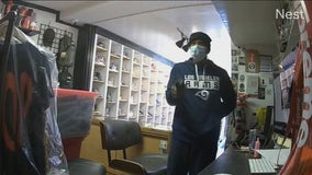 Caught on video: Police seek suspect in Melrose store robbery