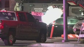 Armed robbery suspect fatally shot by police in Anaheim