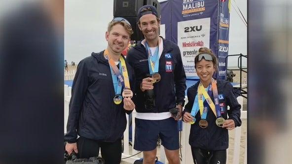 Malibu Triathlon held to raise funds for Children's Hospital Los Angeles