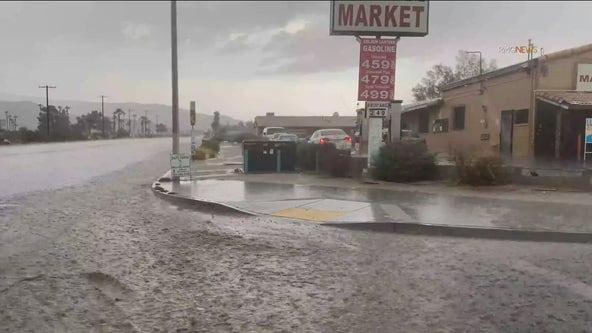 Storm Watch: Rail, hail hit parts of SoCal