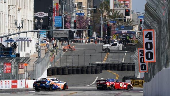 Acura Grand Prix of Long Beach road closure timetable