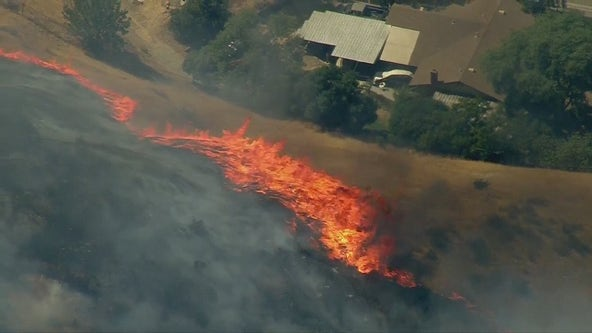 University Fire: Car fire sparks San Bernardino brusher, evacuation orders lifted