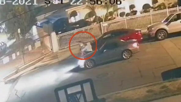 WATCH: Video shows man force woman into car in Bell Gardens