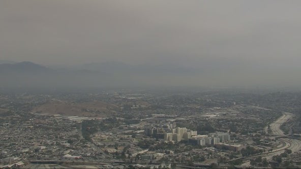 Drift smoke from Central, Northern California wildfires blankets Southland