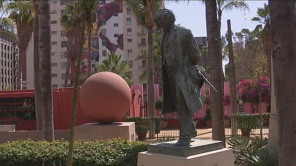 Community activists call on LA City Council to rename Pershing Square