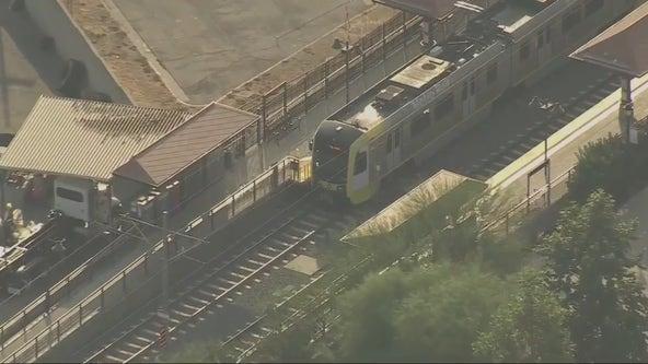 LASD investigating bomb threat at Monrovia Gold Line train platform