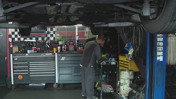 Mechanics experiencing car parts shortage