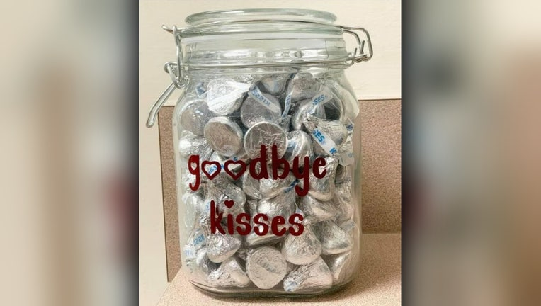goodbye kisses jar smiths station animal hospital