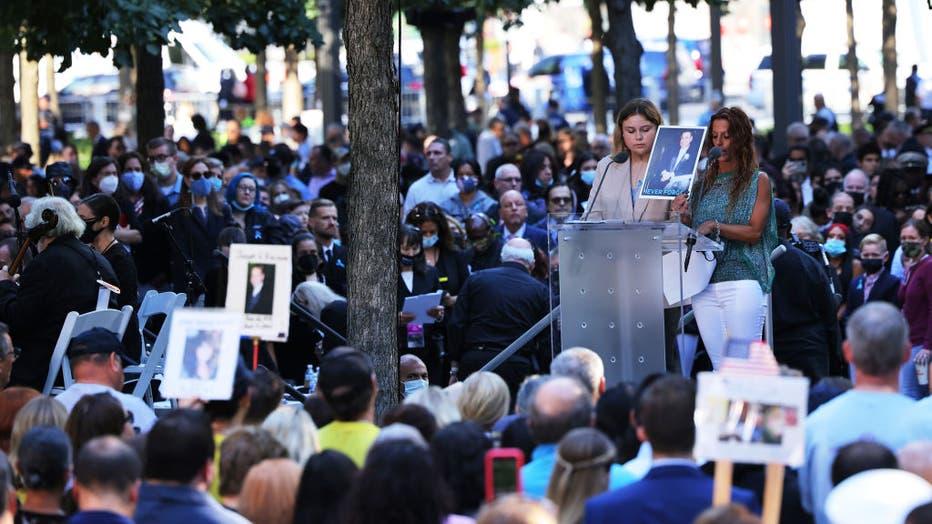 c0c47de0-New York City Commemorates 20th Anniversary Of 9/11 Terror Attacks